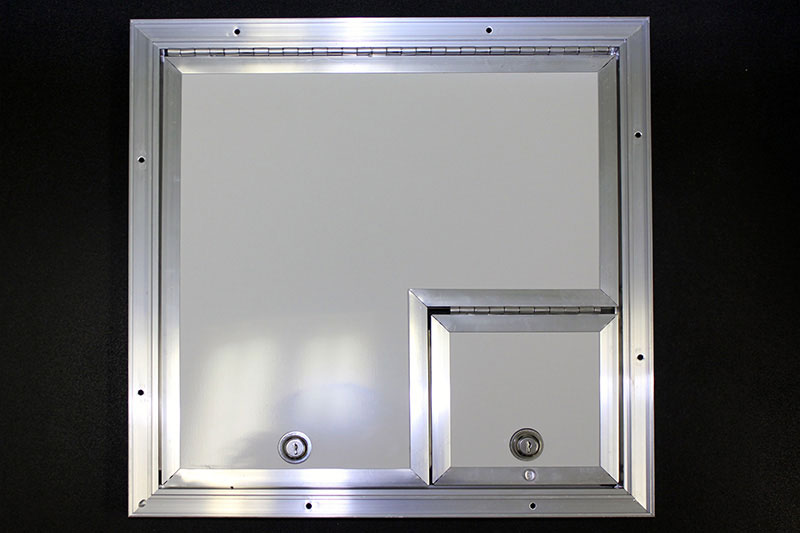 16x16 Fiber Optic Splicing Door, 6x6 Right